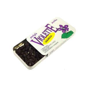 Pastiglie di Liquirizia aromatizzate alla Violetta 12 g Kordofan