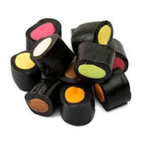 Mini Tronchetti di Liquirizia Farciti Mix min. 500 g