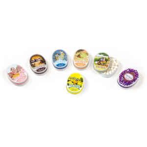 Scatola Ovale Caramelle Balsamiche Menta 50 g Anis de Flavigny