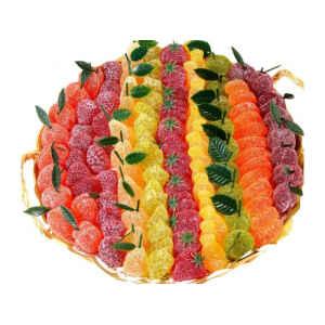 Paniere con Gelatine di Frutta 2.5 kg