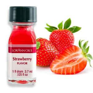 Aroma Concentrato alla Fragola Senza Zucchero e Glutine 3,7 ml