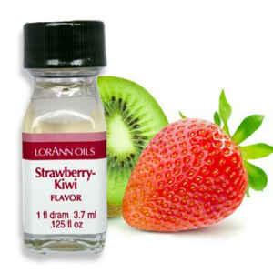 Aroma Concentrato Fragola e Kiwi Senza Zucchero e Glutine 3,7 ml