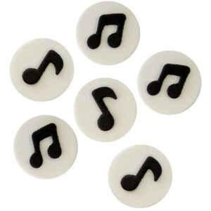 Note Musicali 6 Pezzi PME