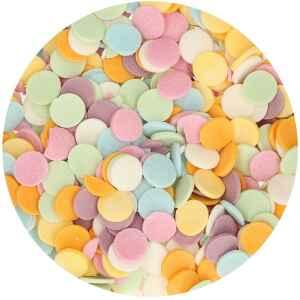 Maxi Coriandoli Colorati Ø 1 cm 55 Grammi FunCakes