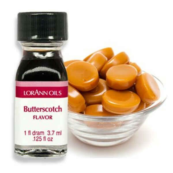 Aroma Concentrato al Butterscotch Senza Zucchero e Glutine 3,7 ml