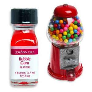 Aroma Concentrato Bubblegum Senza Zucchero e Glutine 3,7 ml LorAnn