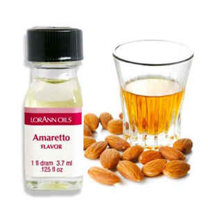 Aroma Concentrato all'Amaretto Senza Zucchero e Glutine 3,7 ml LorAnn