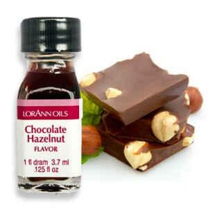 Aroma Concentrato Cioccolato alla Nocciola Senza Zucchero e Glutine 3,7 ml LorAnn