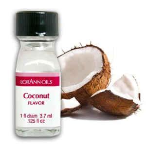 Aroma Concentrato al Cocco Senza Zucchero e Glutine 3,7 ml LorAnn