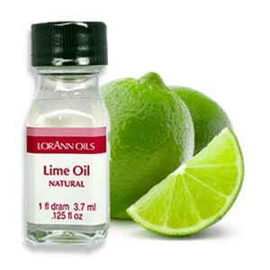 Aroma Concentrato Lime Oil Senza Zucchero e Glutine 3,7 ml LorAnn