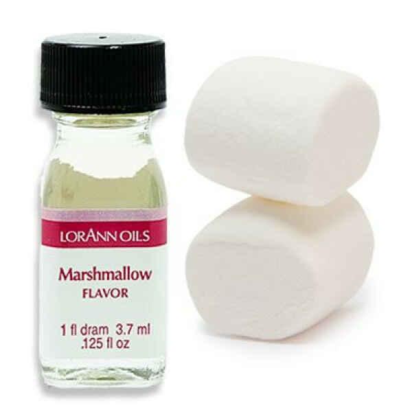 Aroma Concentrato al Marshmallow Senza Zucchero e Glutine 3,7 ml LorAnn