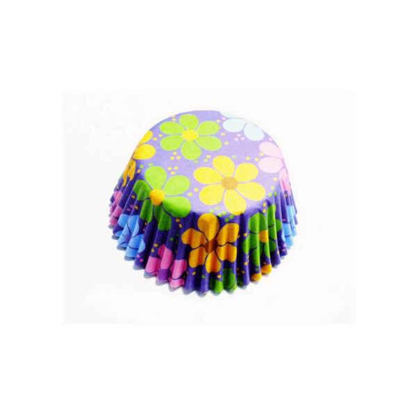Pirottini - Cupcake da Forno Fiori Colorati 5 cm PME 60 Pz