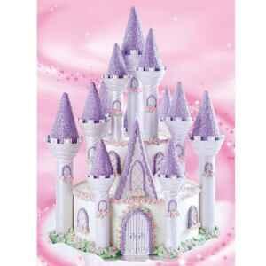 Set Torta Castello Romantico a piani 32 pz Wilton