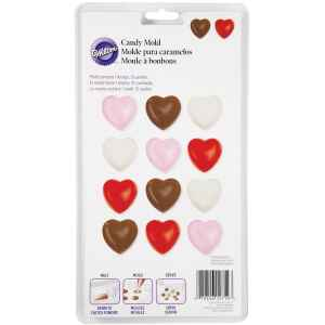 Wilton Stampo in Plastica Cuore Candy e Choco