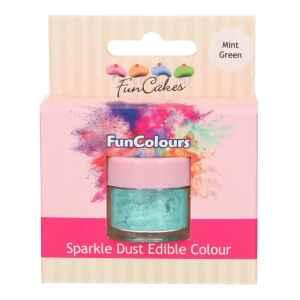 Polvere Colorata Edibile Verde Menta 2,5 g FunCakes