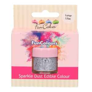 Polvere Colorata Edibile Lilla Lunare 2,5 g FunCakes