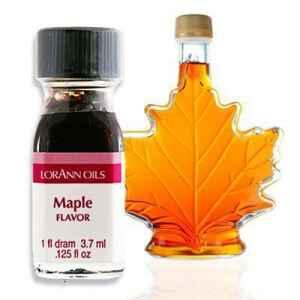 Aroma Concentrato allo Sciroppo d'Acero Senza Zucchero e Glutine 3,7 ml LorAnn