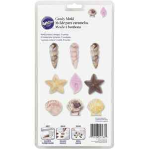 Wilton Stampo in Plastica Conchiglie Candy e Choco