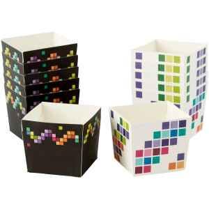 Wilton Pirottini - Cupcake Quadrati Pixel da Forno 12 Pz