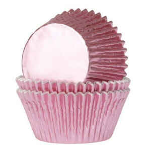 Pirottini - Cupcake Flanella Baby Pink Ø 3 cm 36 Pz House of Marie