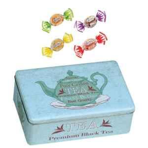 Latta celeste contenitore di tè con Gelatine alla frutta 200 g