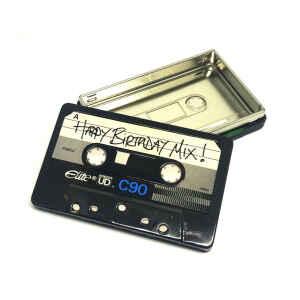 Latta musicassetta Happy Birthday Mix