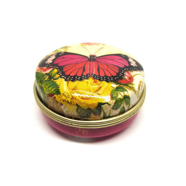 Latta portapillole tascabile Nostalgia Farfalla