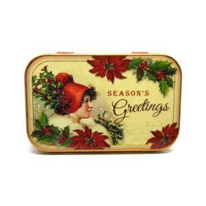 Latta Rettangolare Tascabile a Cerniere Nostalgia - Season's Greetings