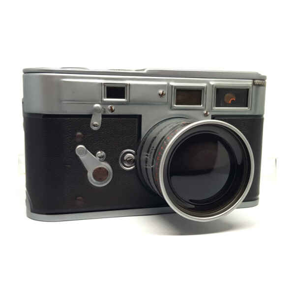Latta fotocamera vintage 13,8 x 7,1 x 7,7 cm
