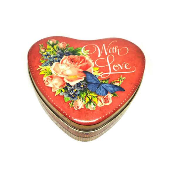 Latta a forma di cuore Nostalgia - With Love