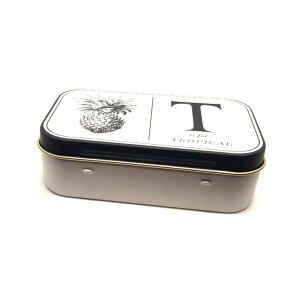 Latta Rettangolare Tascabile a Cerniere Sewing  - T is for Tropical