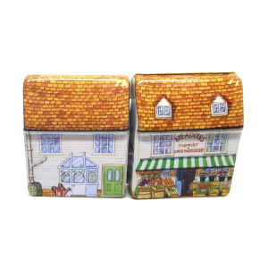 Mini latta Dolls House - Florist & Greengrocer