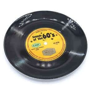 Piatto da portata disco in vinile 45 giri Sounds of the 60's