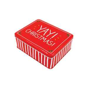 Latta Rettangolare Alta Yay Christmas