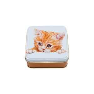 Latta quadrata piccola Best Friends - Marmalade Kitten Jo Stockdale