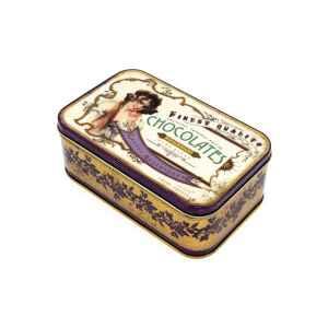 Latta rettangolare alta Nostalgia - Chocolates Finest Quality