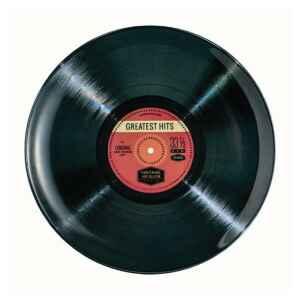 Piatto da portata disco in vinile 33 giri Greatest Hits