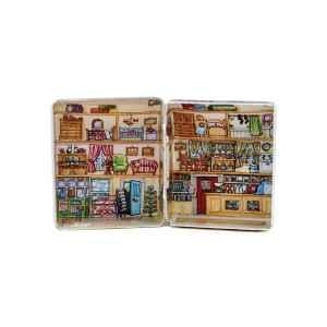 Mini latta Dolls House - Post Office