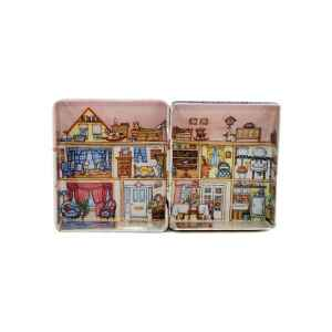 Mini latta Dolls House - Victorian House