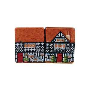 Mini latta Dolls House - Cottage