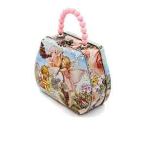 Latta con manico Flower Fairies rosa