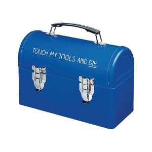 Valigetta di latta Touch my tools and die