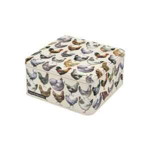 Latta quadrata alta Feels Like Home - Hens 20 x 20 x 10,5 cm