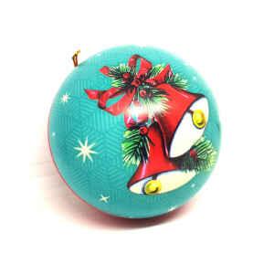"""Pallina di Natale """"Vintage Originals"""" in Latta Babbo"""