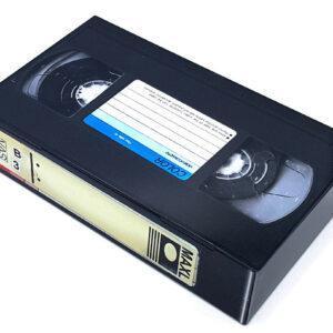Latta videocassetta VHS Retro 17,7 x 10,5 x 4 cm