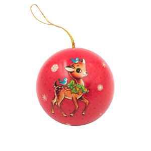 "Pallina di Natale ""Vintage Originals"" in Latta Renna"