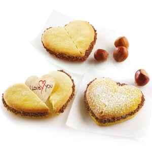 Biscotti della Fortuna a Cuore Per Te Silikomart