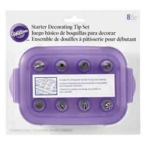 Cornetto - Beccuccio Decorativi Starter Set 9 Pz Wilton