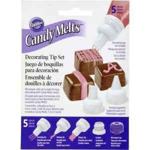 Cornetto - Beccuccio Decorativo Candy Melt 5 Pz Wilton