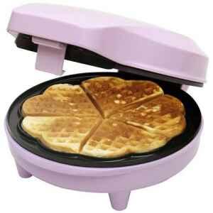 Macchina per waffle a forma di cuore Bestron Sweet Dreams